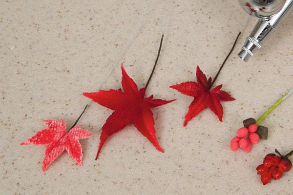 Autumn foliage step 2