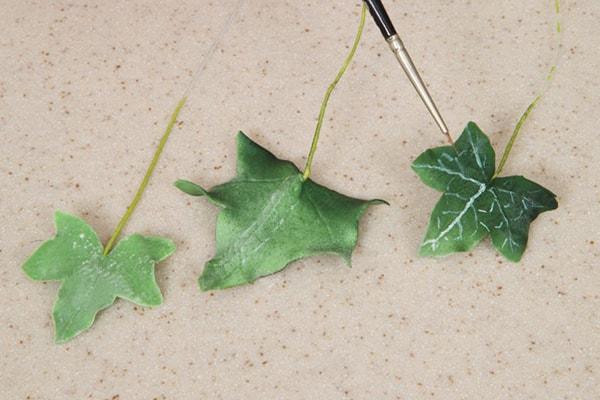 Autumn foliage step 3