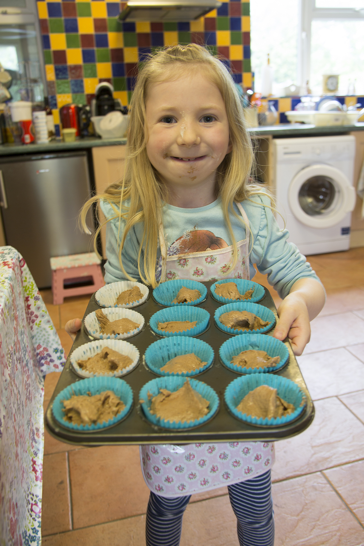Ava Baking Chocolate Muffins