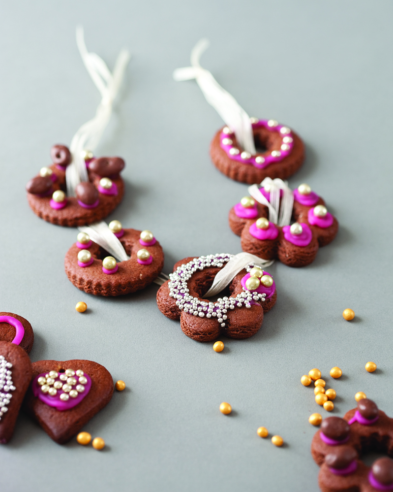 Chocolate Biscuit Necklaces