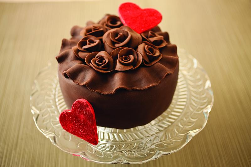 Chocolate-Rose-Cake