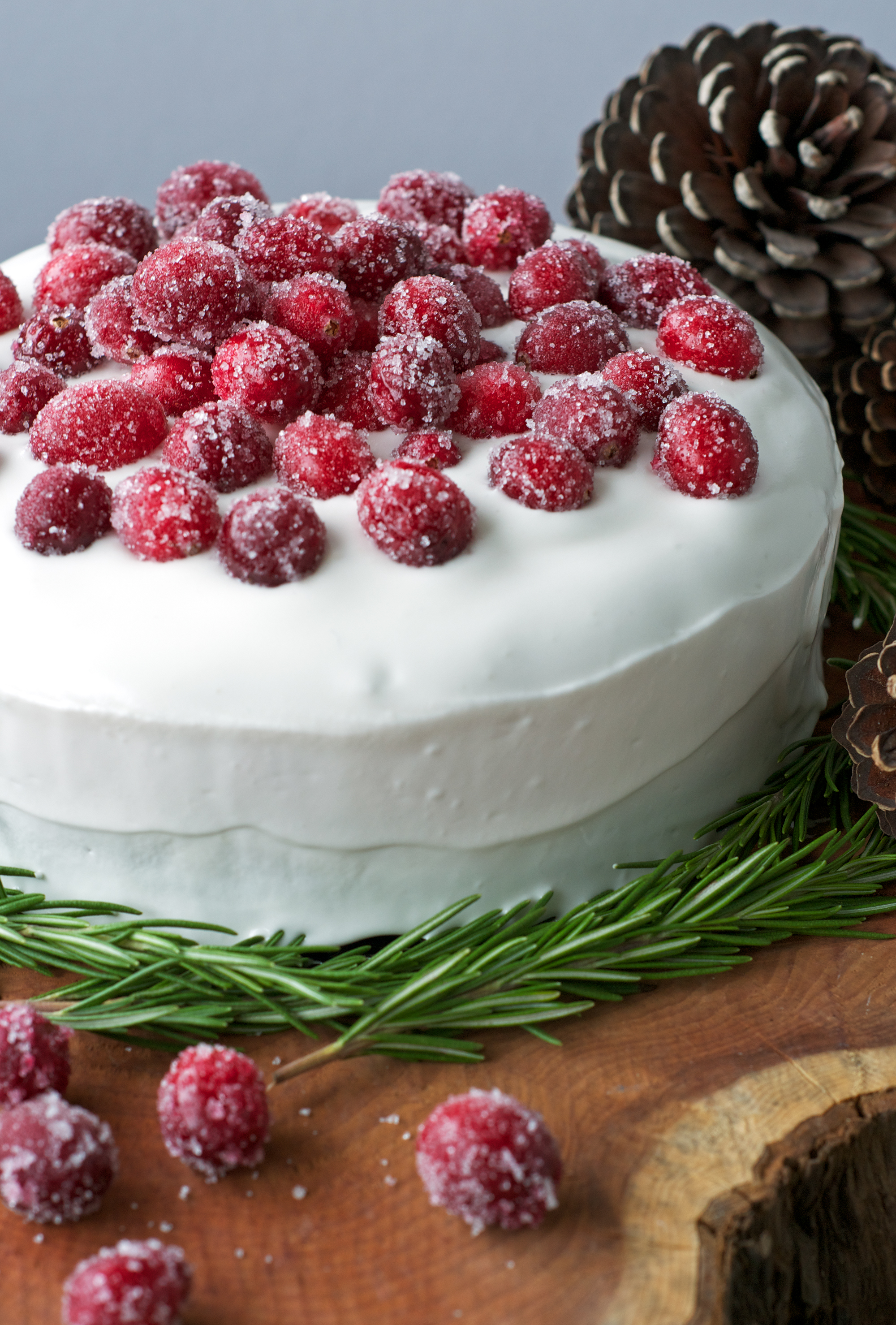 Vegan, gluten and dairy-free Christmas cake