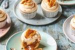 Dairy-free caramel cupcakes