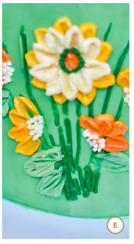 Palette Knife Painted Cake