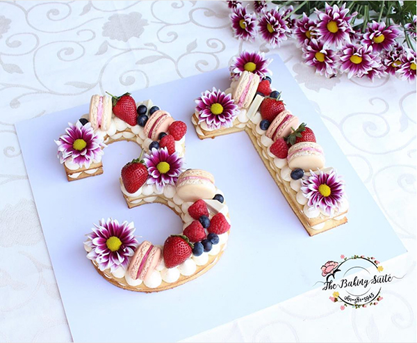 31 number cake
