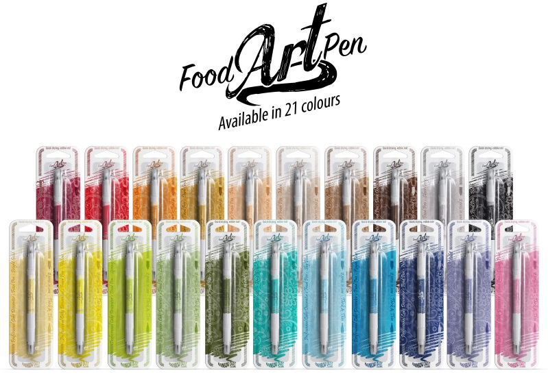 Food Art Pens - Group Shot WEB