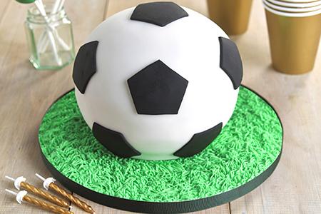 Best football cakes iconic football cake Lakeland
