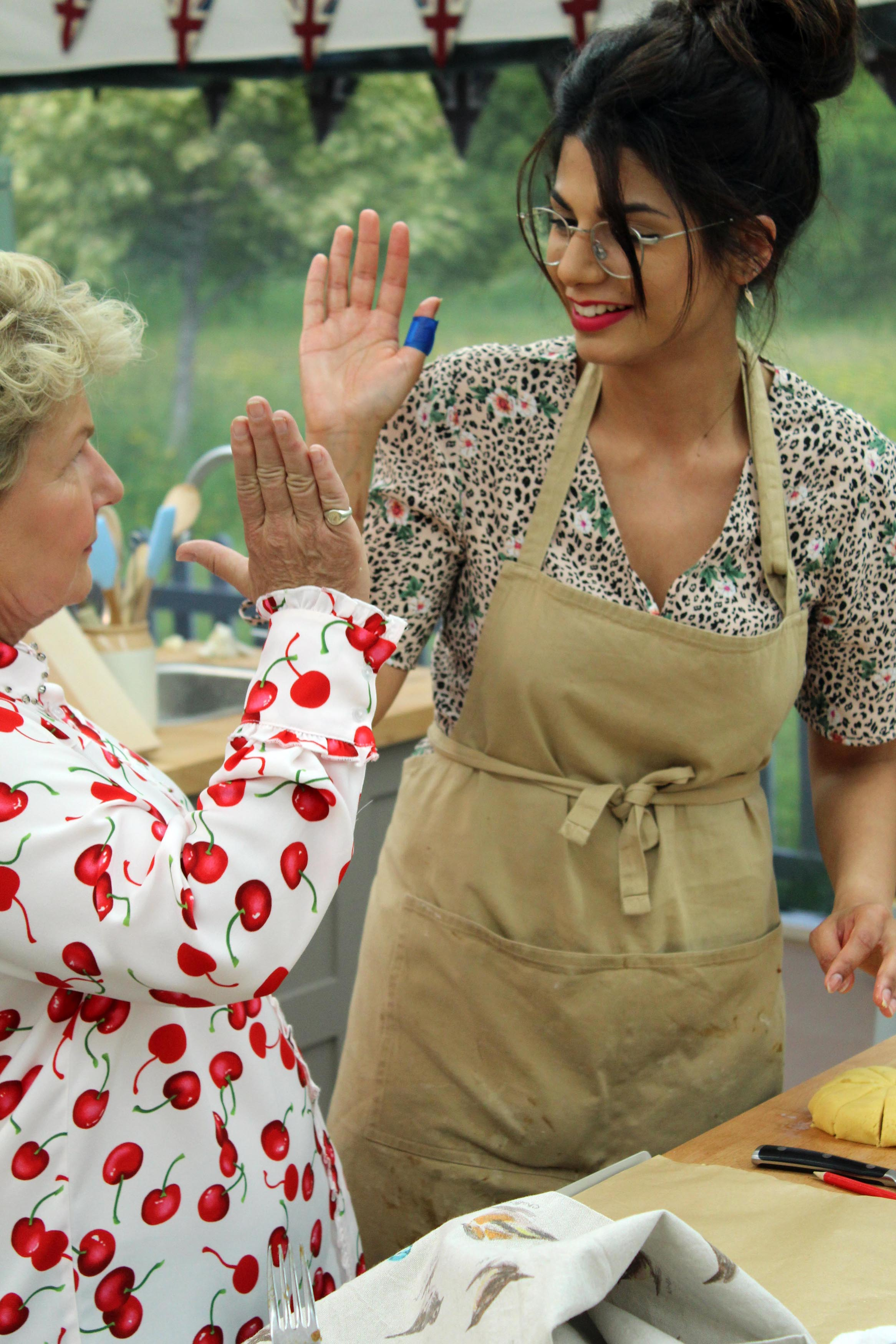Episode 5, Technical Bake; Sandi with Ruby baking