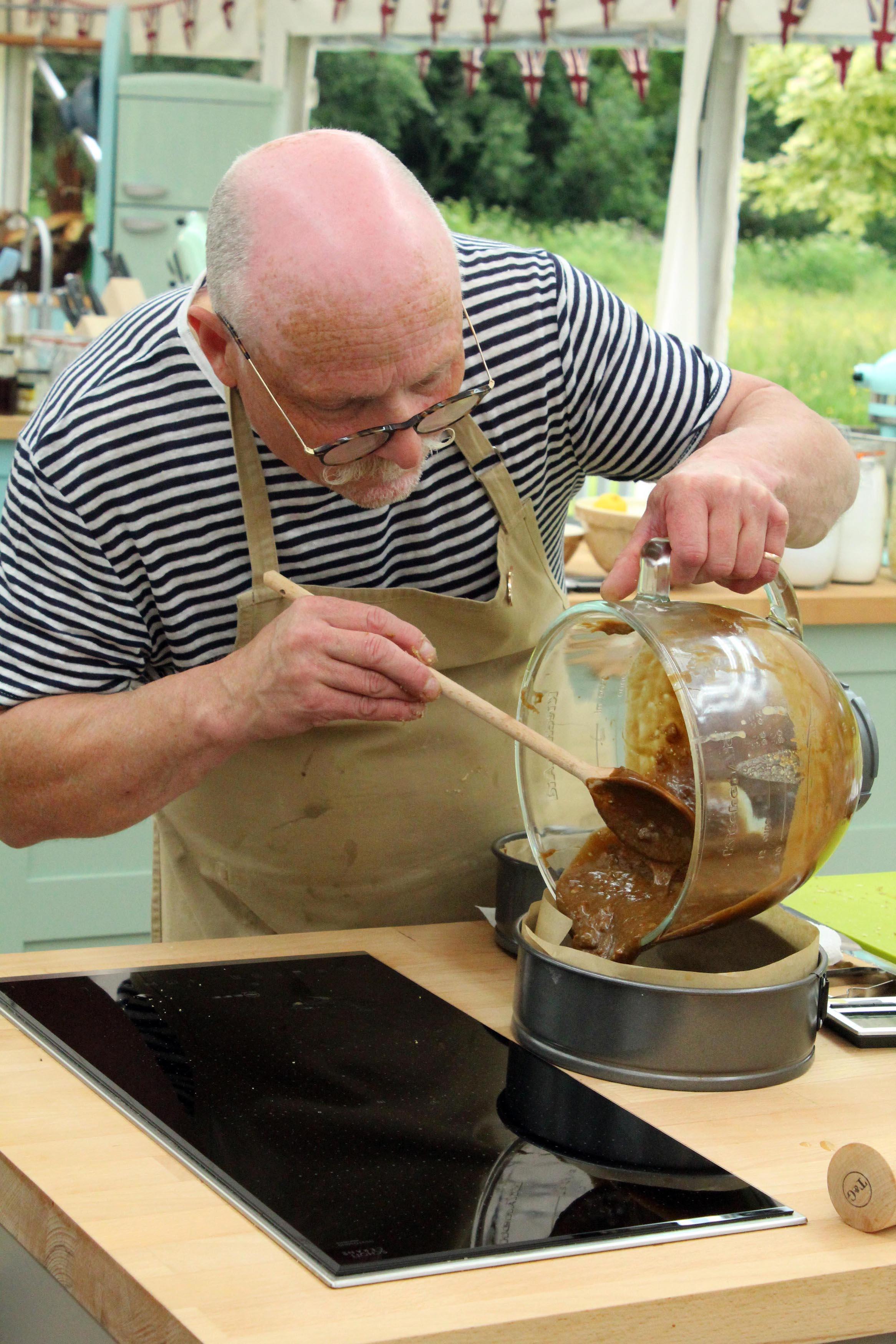 Episode 5, Signature Bake; Terry baking