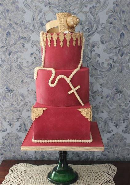 Gothic Borgia cake