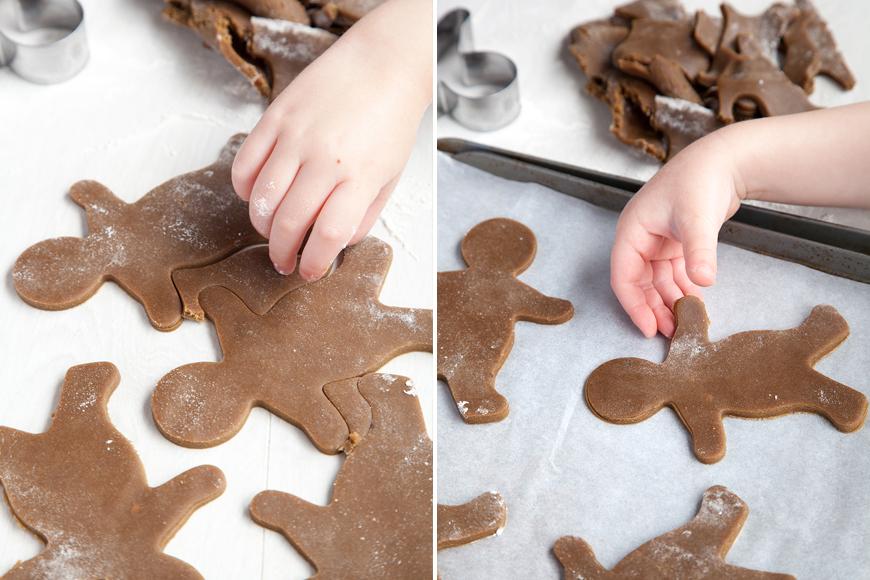 Halloween gingerbread cookies instruction 5