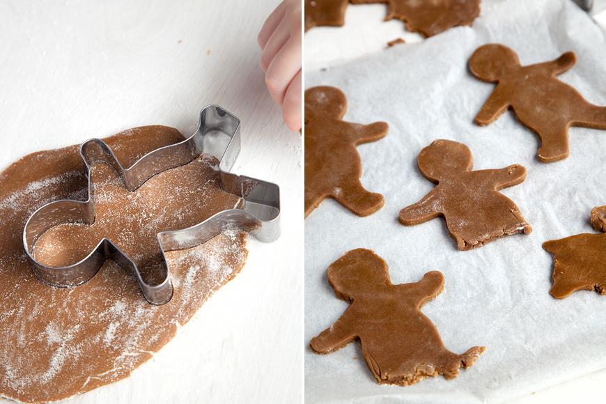 Halloween gingerbread cookies instruction 7