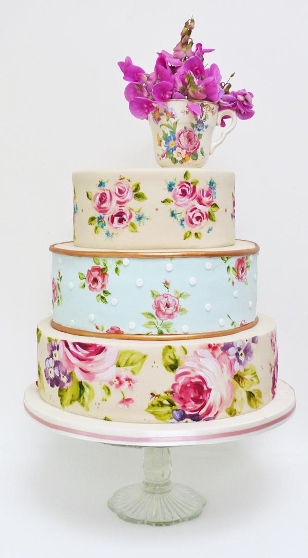 Handpainted-Wedding-Cake-Vintage-Teacup