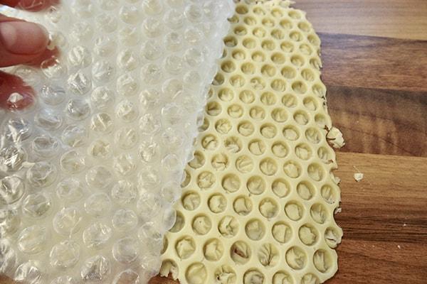 Honeycomb shards step 5