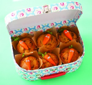 Carrot and Sultana Muffins