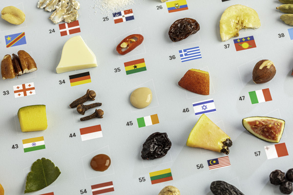 Ingredients from around the world