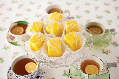 Lemon fondant fancies recipe 458
