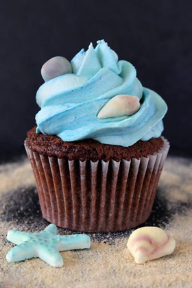 Lovely blue cupcake 280px