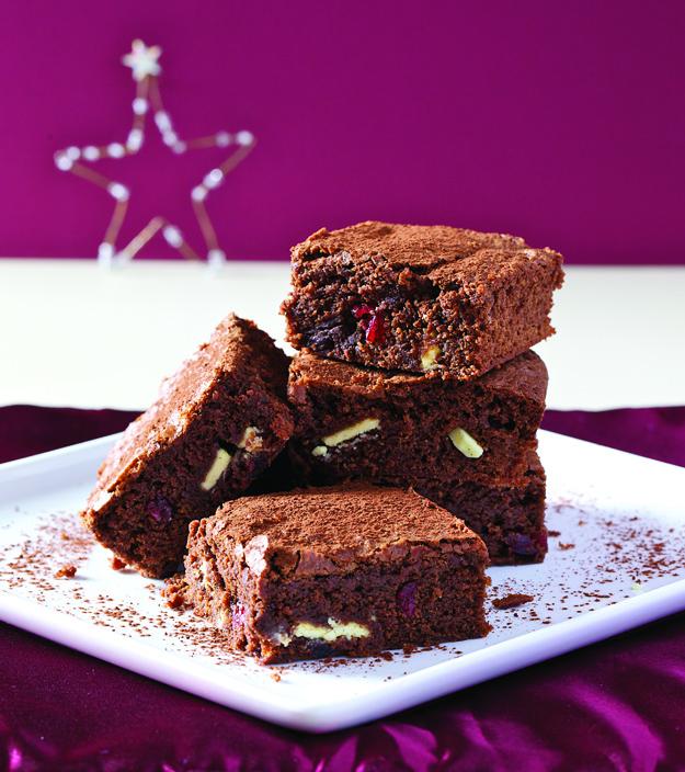 cranberry brownie
