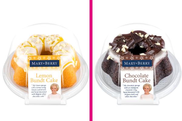 Mary Berry's Bundt cake range