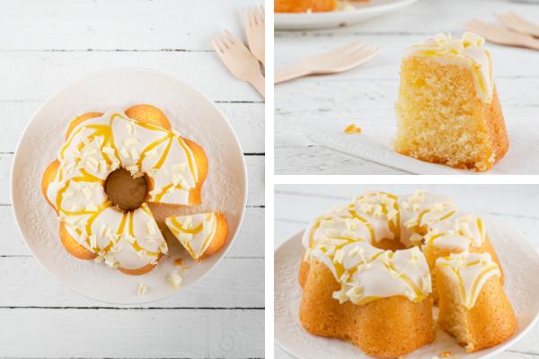 Mary Berry's Lemon Bundt cake