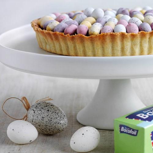 Mini egg tart