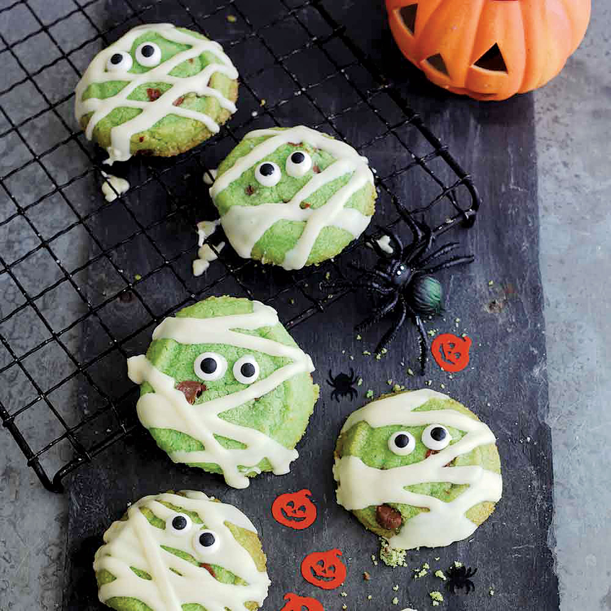 Monster Mummies Biscuits