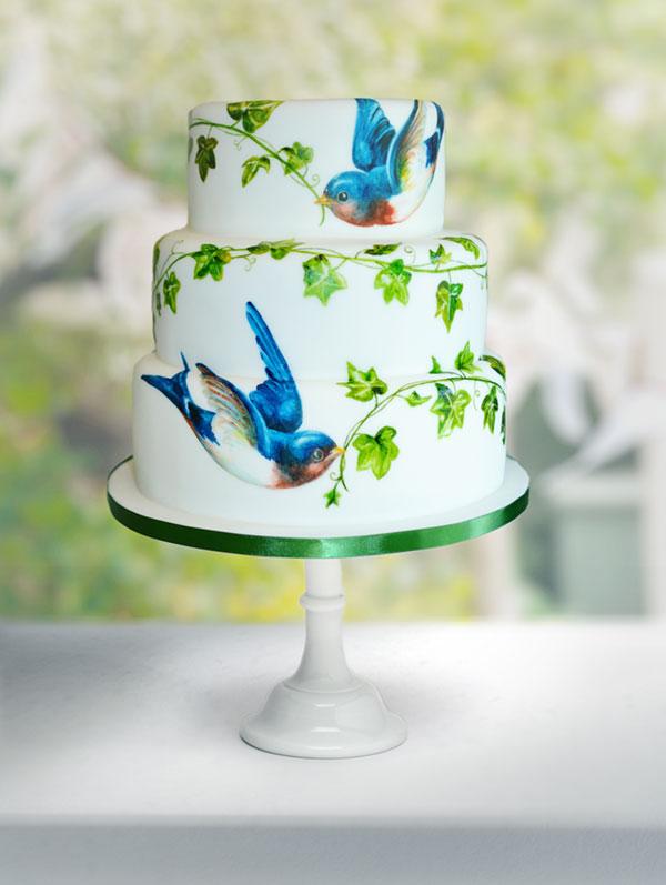 MurrayMe-Wedding-Cake-Birds-Ivy