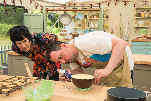 The GBBO round-up: dessert week Noel and Dan