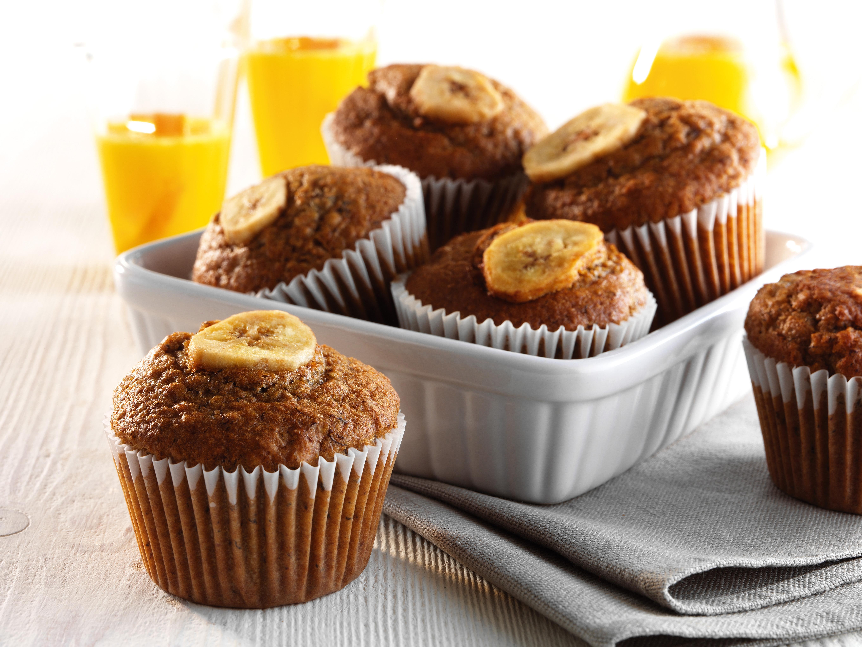 Nutty Banoffee Muffins