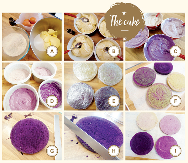 How to: Make an ombre cake