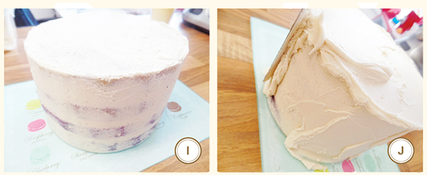 How to: Make an ombre cake 3