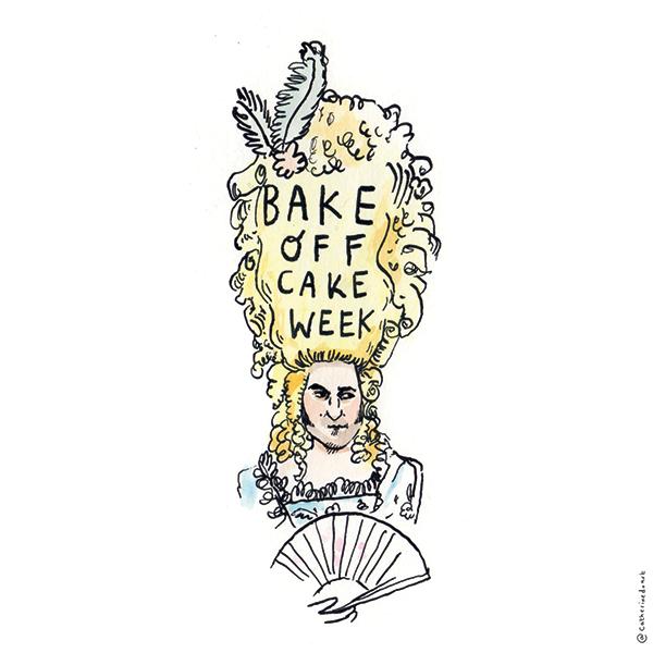Bake Off Illustration