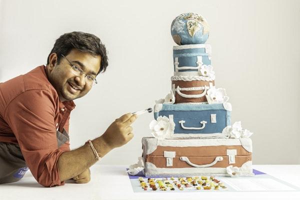 Rahul Mandal 100 ingredient cake