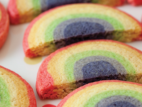 Rainbow biscuits 458