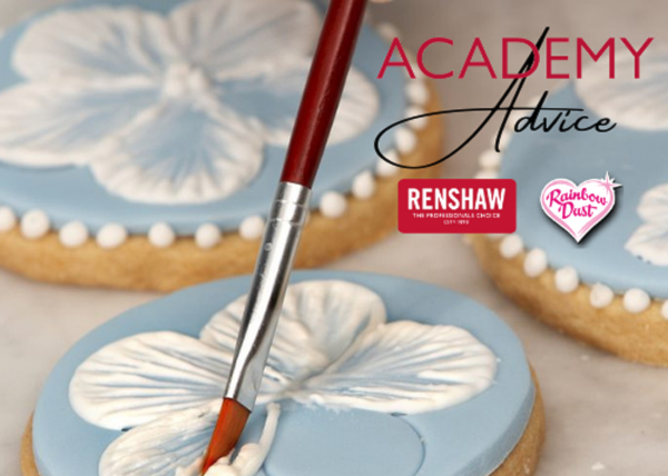 Renshaw Academy Advice floral biscuits