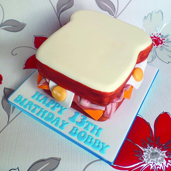starting a baking business - sandwich cake