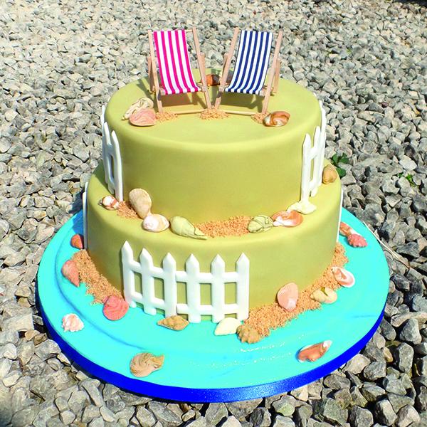 Britt Box seaside cake