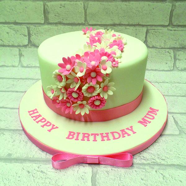 Britt Box floral cake