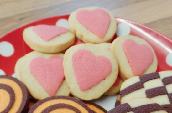 hidden heart cookies Valentine's Day baking Recipes