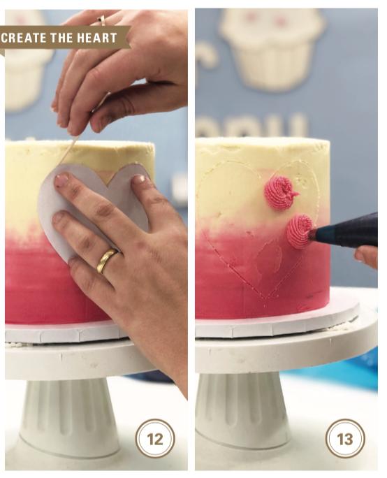 heart cake tutorial