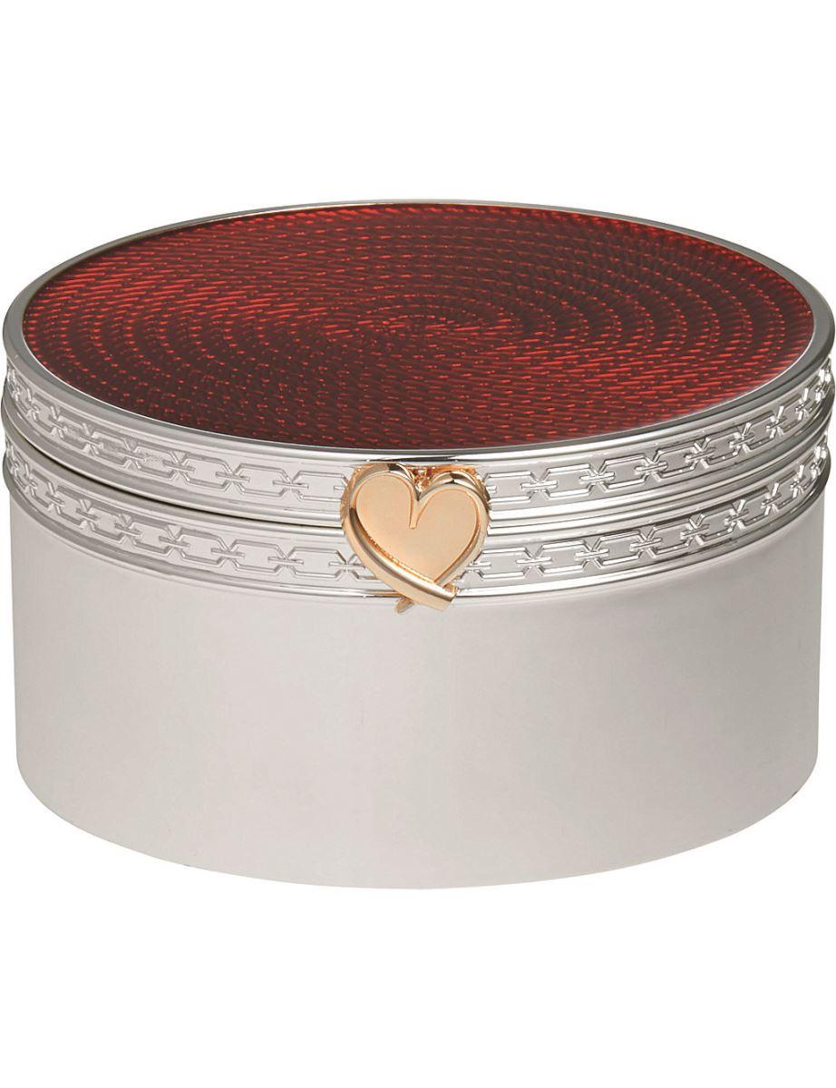 Vera Wang @ Wedgewood Treasures with love heart treasure box (£55) Selfridges