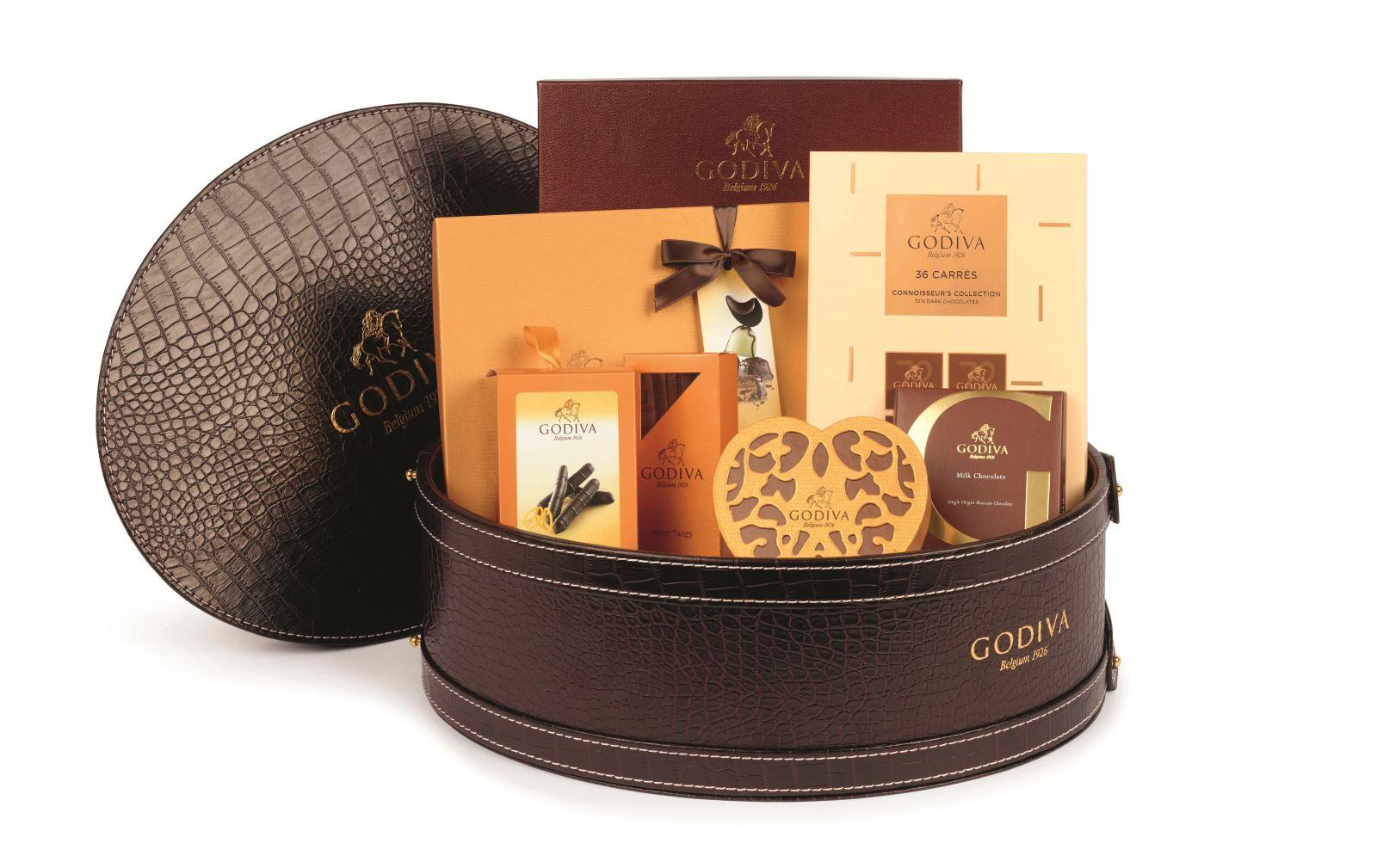 Godiva luxury hamper (£150) Godiva Chocolates