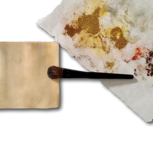 fur textures using petal dusts