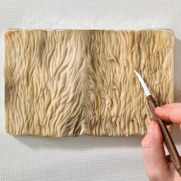 Dresden tool to create short fur texture