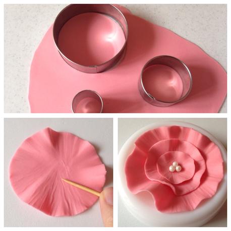 Step Ruffle flower
