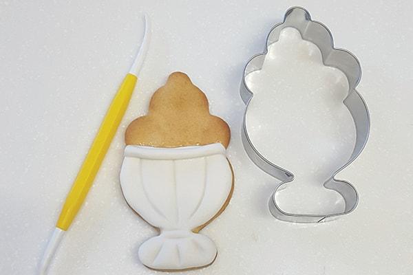 Sundae cookie step 1