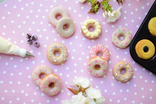 baked ring doughnuts