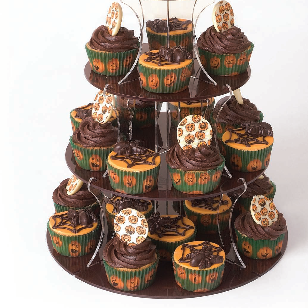 Terrifying Tower of cupcakes