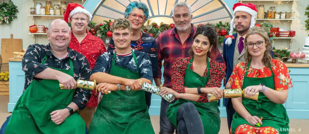 GBBO Christmas tent